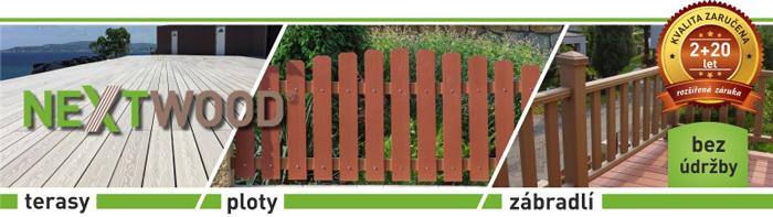 WPC dřevoplast NEXTWOOD